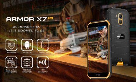 メモリ/ストレージ倍増で実用的に!たった9,825円のタフネススマホ「Ulefone ARMOR X7 Pro」発売!