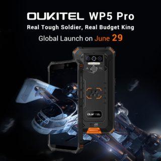 OUKITELがLTE B19対応の廉価タフネススマホ「WP5 Pro」と約1万円程度の「C19」を発表