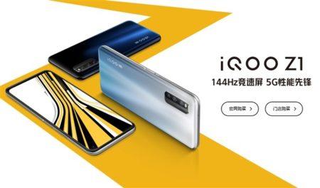 144Hzディスプレイ搭載5Gスマホ「vivo iQOO Z1」発売!AnTuTu50万点越えで400ドルは衝撃価格