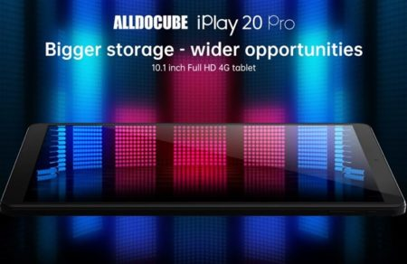 スペック強化版10.1インチタブ「ALLDOCUBE iPlay20 Pro」発売~6GB+128GBで約1.6万円