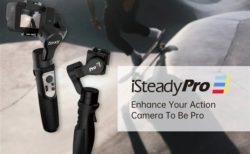 アクションカメラ用ジンバル「Hohem iSteady Pro3」発売~GoProコントロールや防滴が付いて約8000円とお買い得