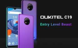たったの59.99ドル! OUKITELがデザインの良い超低価格スマホ『OUKITEL C19 』を発売