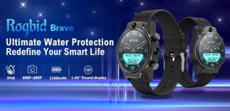 4G LTEスマートウォッチ「ROGBID Brave」発売中~GPS/IP68防水/カメラとほぼ全部入りで約1.5万円