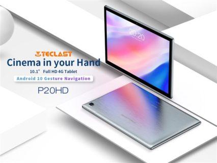 【クーポン追加】安っぽくない9.3mm厚 10.1インチSIMフリータブレット「TECLAST P20HD」発売~価格はわずか1.3万円