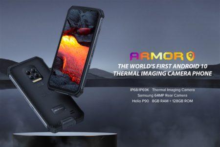 【449.99ドルでセール】遂にサーマルカメラ搭載~最高峰タフネススマホ「Ulefone ARMOR 9」発売