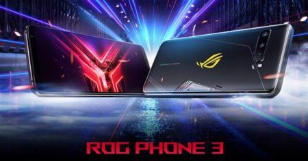 超ハイスペックゲーミングスマホが7万円~「ASUS ROG Phone3」海外SIMフリー版がETORENで発売