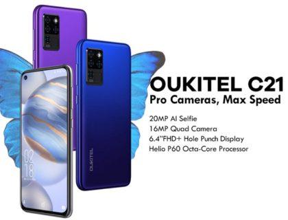 先着200台限定約1.1万円!「OUKITEL C21」が遂に発売! HelioP60/フルHD+/パンチホール/プラチナバンド対応でこの価格はヤバイ