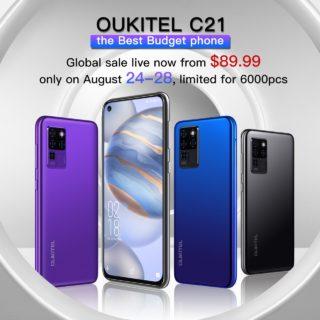 9,693円は安すぎる~先着6000名限り!「OUKITEL C21」が遂に発売! HelioP60/フルHD+/パンチホール/プラチナバンド対応でこの価格はヤバイ
