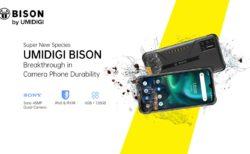 【約1.5万円で先行セール】ゴツくないタフネススマホ「UMIDIGI BISON」発売~4眼カメラで普段使いもOKなデザイン