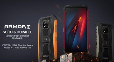 【独身の日セールで129.99ドル】定番タフネススマホ「Ulefone ARMOR8」発売! 新製品がいきなり約1.5万円~プラチナバンドも対応