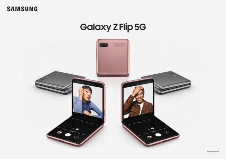 Samsungのフォルダブルスマホ「Galaxy Z Flip 5G」海外SIMフリー版がETORENで発売