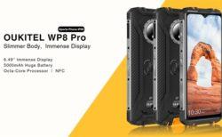 <200台限定>約1.3万円で買えるタフネススマホ「OUKITEL WP8 Pro」発売~薄型ながら大容量バッテリーと4G B8/B19対応