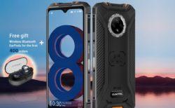 OUKITELの薄型タフネススマホ「WP8 Pro」が80ドルOFFの119.99ドル(約1.3万円)でグローバルセールスタート!更にTWSイヤホン付