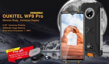 <期間限定>1万円台前半で買えるタフネススマホ「OUKITEL WP8 Pro」発売~薄型ながら大容量バッテリーと4G B8/B19対応