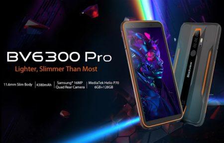 LTE B19対応タフネススマホ「Blackview BV6300 Pro」が21,505円でセール中