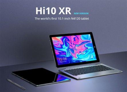 CHUWI 10.1インチWin10 2in1タブレット「CHUWI Hi10 XR」発売! キーボード/スタイラスペン付フルセットでも3.2万円程度とリーズナブル