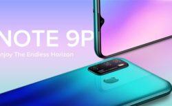【約1.1万円】LTE B19対応低価格3眼カメラスマホ「Ulefone Note 9P」発売~4,500mAhの大容量バッテリー搭載