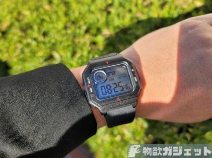 実機レビュー! 1ヶ月常時表示可「Amazfit Neo」2週間使ってみた~腕時計寄りのスマートウォッチの実力は?