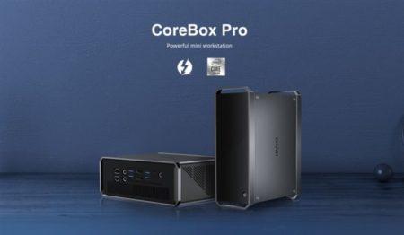 【先着クーポンも】CHUWI ミニPCサイズ第10世代Core3/12GB RAM搭載「CoreBox Pro」発売~このスペックならむしろ安い