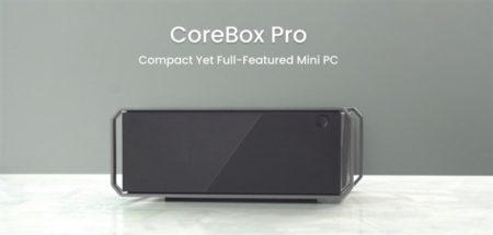 CHUWIからミニPCサイズながらも第10世代Core3/12GB RAM搭載「CoreBox Pro」一般発売へ~このスペックならむしろ安い