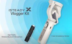 約1.1万円!「Hohem iSteady X VLOG」発売~クリップマイク&リモコン等がセットで配信が捗るコンパクトジンバルスタビライザー