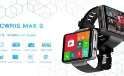 デカイ!スマートウォッチなのに2.4インチVGAディスプレイ搭載「TICWRIS MAX S」発売~AndroidOSで自由度高いし国内3キャリアプラチナバンド対応と全てが異色