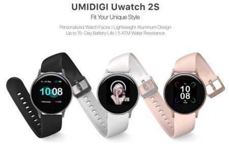 通常使用で15日充電要らず「UMIDIGI Uwatch 2S」~安いながらも心拍数センサーもアプリ通知も可能