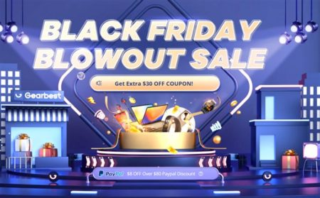 Gearbestで「ブラックフライデー」本番セールスタート! POCO X3/Amazfit/KOSPETスマートウォッチが激安&PayPal支払で8ドルOFFが魅力