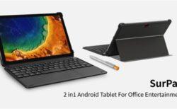 【キーボード付約2万円クーポン追加】CHUWI Android10タブレット「SurPad」発売~Helio P60搭載/キーボード接続でPCライクに使える