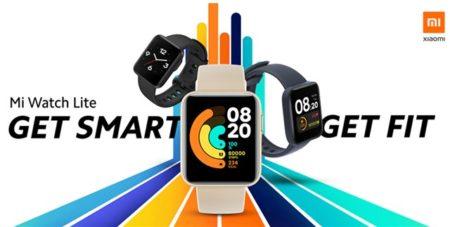 【61.99ドルクーポン追加】Xiaomiから『Mi Watch Lite』スマートウォッチ発売~5色カラー/9日間充電不要/GPS+心拍+睡眠+気圧計など機能満載