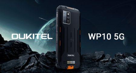 5Gタフネススマホ「OUKITEL WP10」が50ドルOFF~更に40ドルのTWSイヤホンが先着500名に付いてくる
