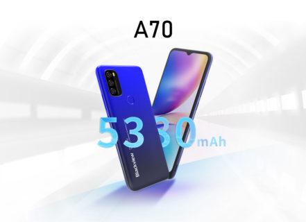 Blackviewからわずか約8500円の大容量バッテリー搭載スマホ「Blackview A70」が発売へ~TWSイヤホンAir Buds2は22.99ドル:PR
