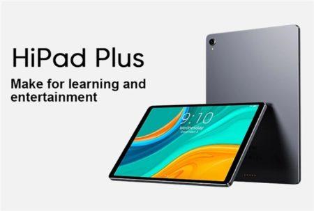 【229.99ドルクーポン追加】iPadライクな11インチ2K解像度タブレット「CHUWI HiPad Plus」発売~わずか6.95mmと極薄