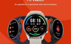 【過去最安105.99ドルクーポン】Xiaomiからバッテリーライフ16日「Mi Watch」スマートウォッチ発売~1.39インチAMOLEDディスプレイで高級性能ながら1万円台前半は安い