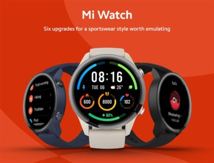 【クーポン更新】Xiaomiからバッテリーライフ16日「Mi Watch」スマートウォッチ発売~1.39インチAMOLEDディスプレイで高級性能ながら1万円台前半は安い