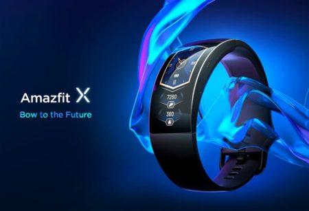 曲面AMOLEDディスプレイスマートウォッチ「Amazfit X」発売~曲面縦スクロールは今後のデザイントレンドになるかも