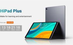 11.0インチAndroidタブレット「CHUWI HiPad Plus」が50ドルOFF~発売直前記念キャンペーンを開催中