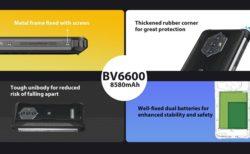 低価格8,580mAh大容量バッテリータフネススマホ「Blackview BV6600」の安全性とタフネスさ : PR