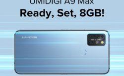 UMIDIGIがA9 Proのスペック強化版「UMIDIGI A9 Max」の発売を予告! 8GB RAM/Helio P60搭載で200ドル以下