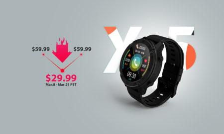 Blackviewが新スマートウォッチ「Blackview X5」を本日から発売! 期間限定で半額などのセールも開催 : PR