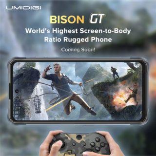 UMIDIGIからMediTek Helio G95搭載タフネススマホ「BISON GT」が発売予定~AnTuTu30万点のパワフル防水防塵スマホ