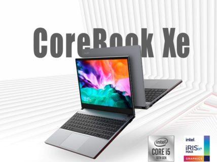 CHUWI がCore i5-10210U搭載「CoreBook Xe」ノートPCを発表~Iris Xe MAX(DG1)はGeForeceMX450以上のパフォーマンス