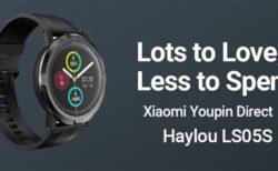 【期間限定セールで4500円】Xiaomi傘下Haylouから通常使用で15日使える「Haylou RT LS05S」スマートウォッチ発売~発売セールで換えバンドセットも安い