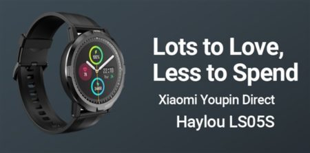 【期間限定セールで4500円】Xiaomi傘下Haylouから通常使用で15日使える「Haylou LS05S」スマートウォッチ発売~発売セールで換えバンドセットも安い
