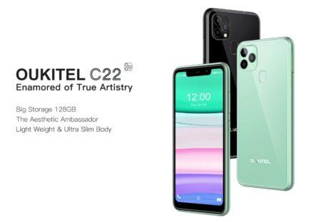 林檎スマホ似で1万円強「OUKITEL C22」発売~4G LTE B8/B19対応でサブ機としてどう?