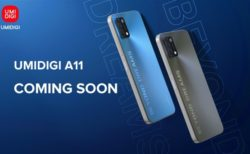 UMIDIGIがフラット&スタイリッシュ「UMIDIGI A11」の発売を予告! デザインが大きく進化