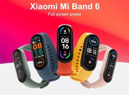 【クーポン追加】Xiaomiから第6世代スマートバンド『Xiaomi Mi Band 6』が発売!1.56インチAMOLEDディスプレイはと50%表示エリア増