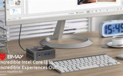 【169.99ドルクーポン出た】Core i3ミニPCが2万円ちょい!「BMAX B3」12cm角の小型 ミニPC発売~8GB+128GB SSD+Win10でこの価格は魅力