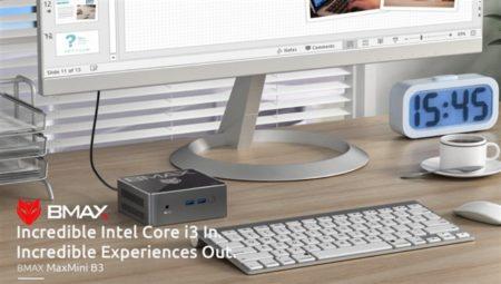 Core i3ミニPCが2万円ちょい!「BMAX B3」12cm角の小型 ミニPC発売~8GB+128GB SSD+Win10でこの価格は魅力