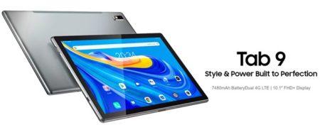 スマホメーカーのタブレットはいかが?「Blackview Tab9」発売~USONIC T610搭載 10.1インチAndroidタブレットは約1.5万円とリーズナブル